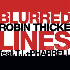 ROBIN THICKE FEAT. T.I. & PHARRELL - Blurred Lines (Universal/UV)