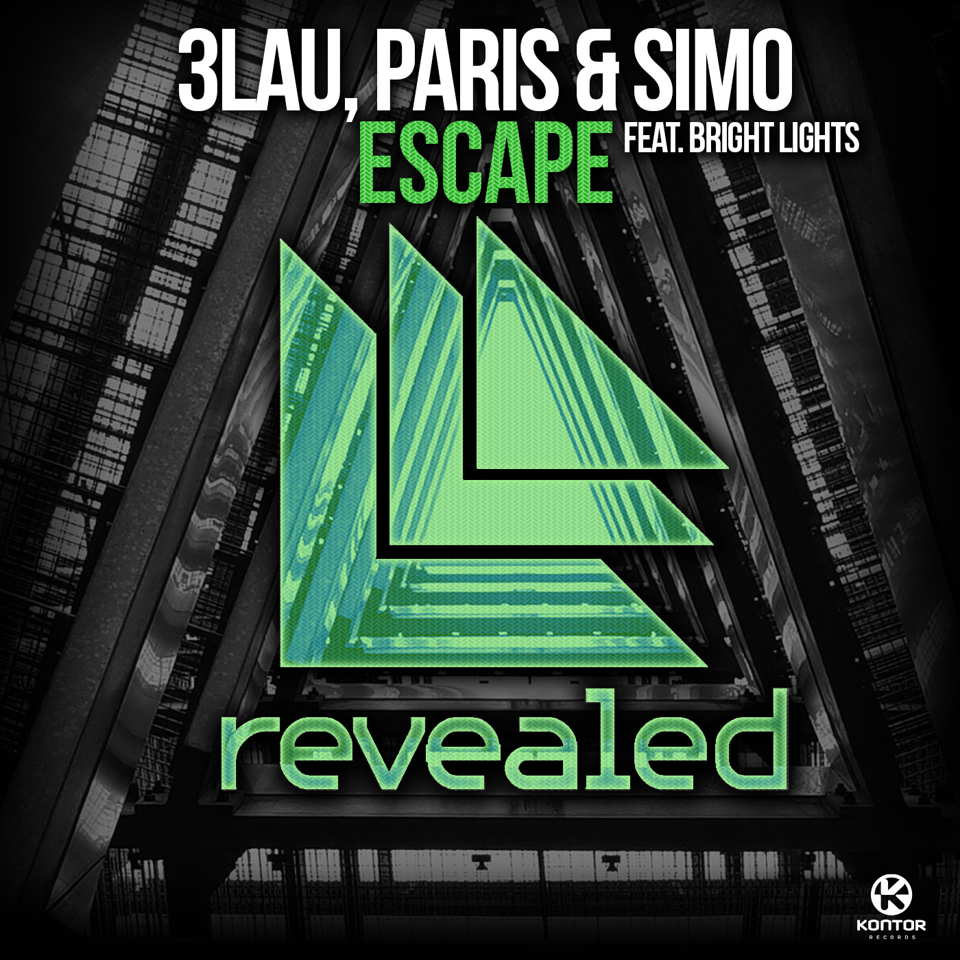 3LAU, PARIS & SIMO FEAT. BRIGHT LIGHTS - Escape (Revealed/Kontor/Kontor New Media)