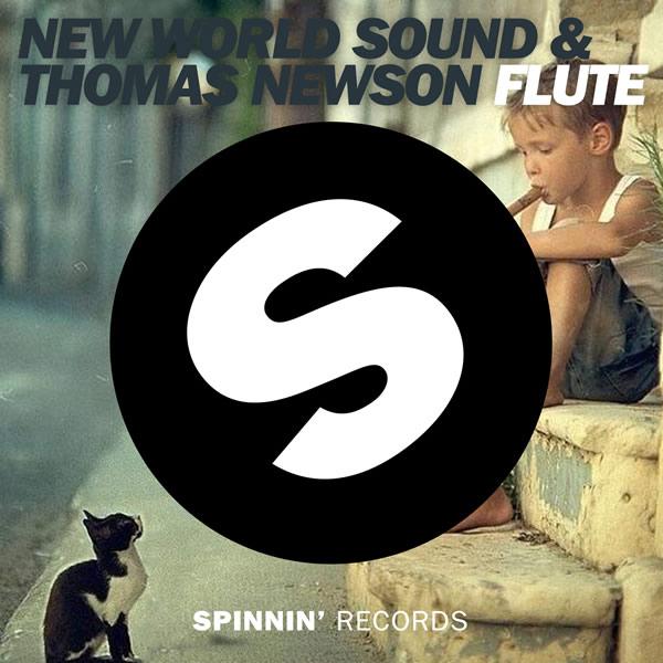 NEW WORLD SOUND & THOMAS NEWSON - Flute (B1/Sony)