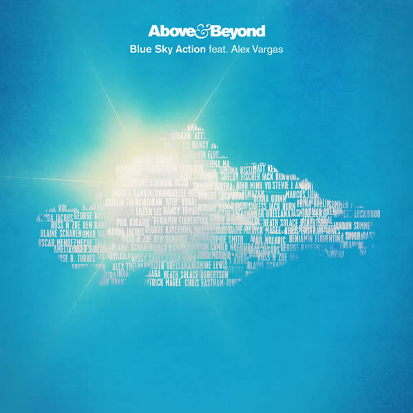 ABOVE & BEYOND FEAT. ALEX VARGAS - Blue Sky Action (Anajuna Beats/Caroline Int./UV)
