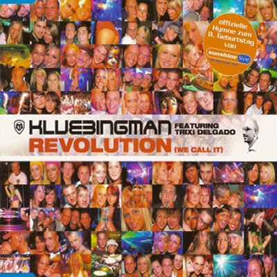 DJ KLUBBINGMAN FEAT. TRIXI DELGADO - Revolution (We Call It) (Klubbstyle/Music Mail/Rough Trade)