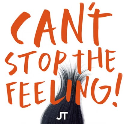 JUSTIN TIMBERLAKE - Can't Stop The Feeling! (RCA/Sony)