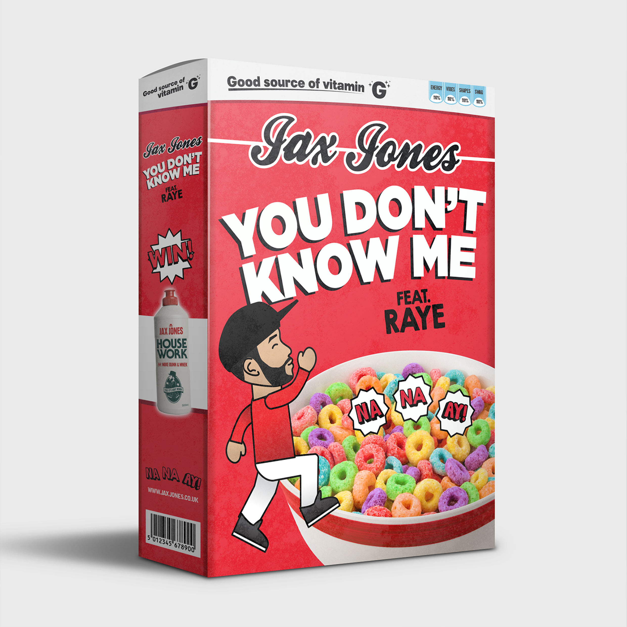 JAX JONES FEAT. RAYE - You Don't Know Me (Polydor/Island/Universal/UV)