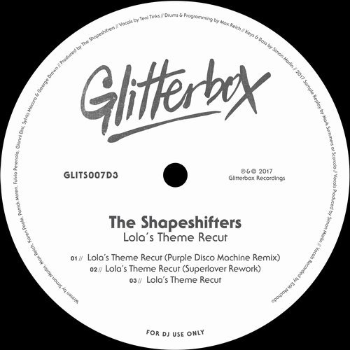 THE SHAPESHIFTERS - Lola's Theme Recut (Glitterbox)
