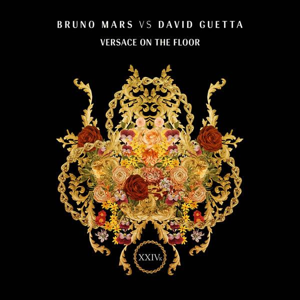 BRUNO MARS VS. DAVID GUETTA - Versace On The Floor (Warner)