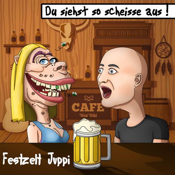FESTZELT JUPPI - Du Siehst So Scheisse Aus (Fiesta/KNM)