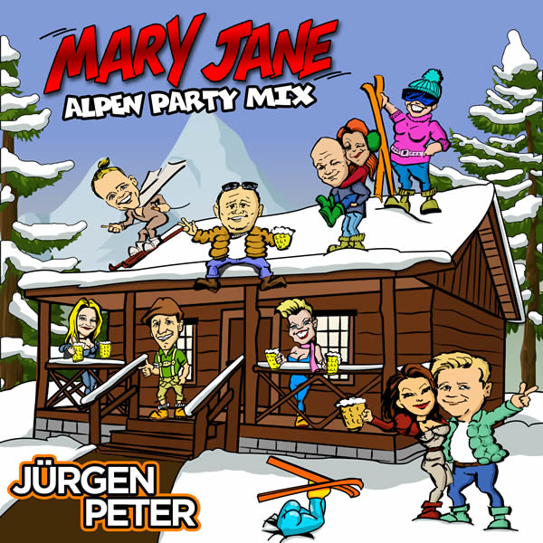 JÜRGEN PETER - Mary Jane (Alpen Party Mix) (Fiesta/KNM)