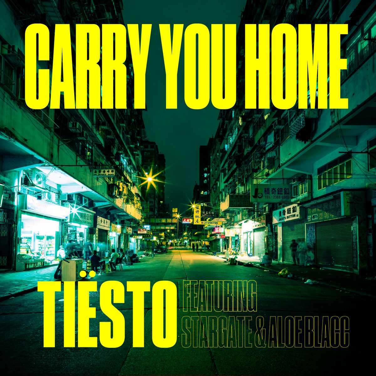 TIËSTO FEAT. STARGATE & ALOE BLACC - Carry You Home (Musical Freedom/Spinnin/Warner)
