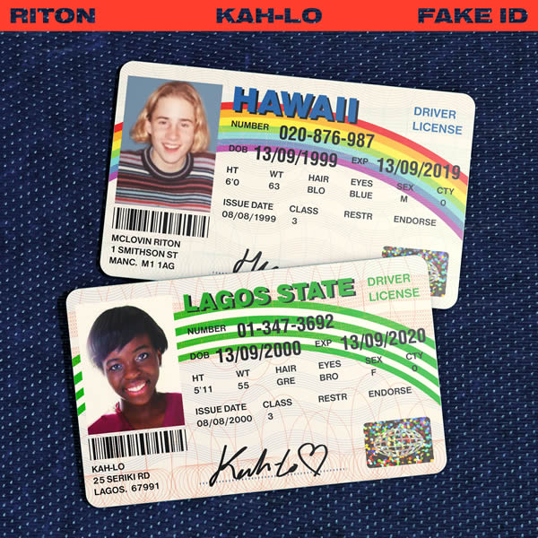 RITON & KAH-LO - Fake ID (Riton Time/Last Gang/eOne/SPV)