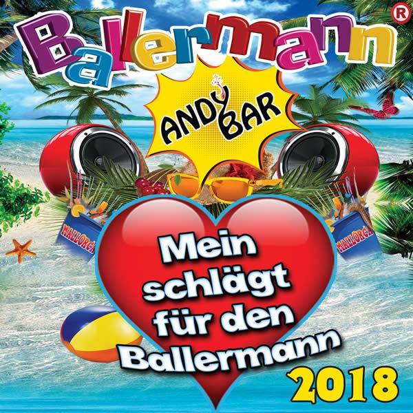 ANDY BAR - Ballermann - Mein Herz Schlägt Für Den Ballermann (2018) (Fiesta/KNM)