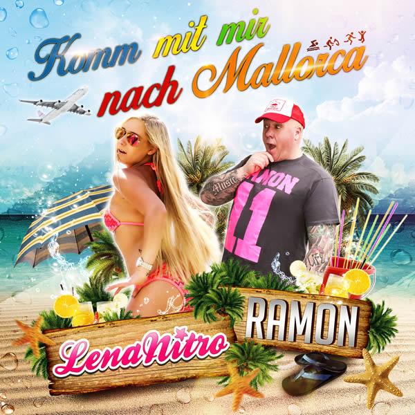 RAMON FEAT. LENA NITRO - Komm Mit Mir Nach Mallorca (Fiesta/KNM)
