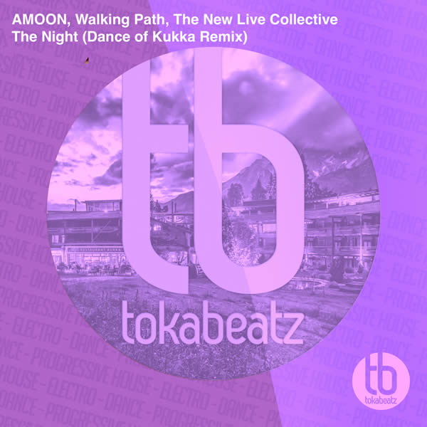 AMOON, WALKING PATH, THE NEW LIVE COLLECTIVE - The Night (Dance Of Kukka Remix) (Toka Beatz/Believe)