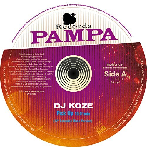 DJ KOZE - Pick Up	 (Pampa)