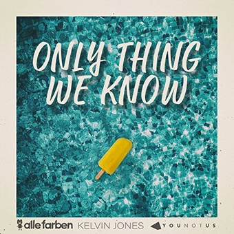 ALLE FARBEN & YOUNOTUS & KELVIN JONAS - Only Thing We Know (B1/Sony)