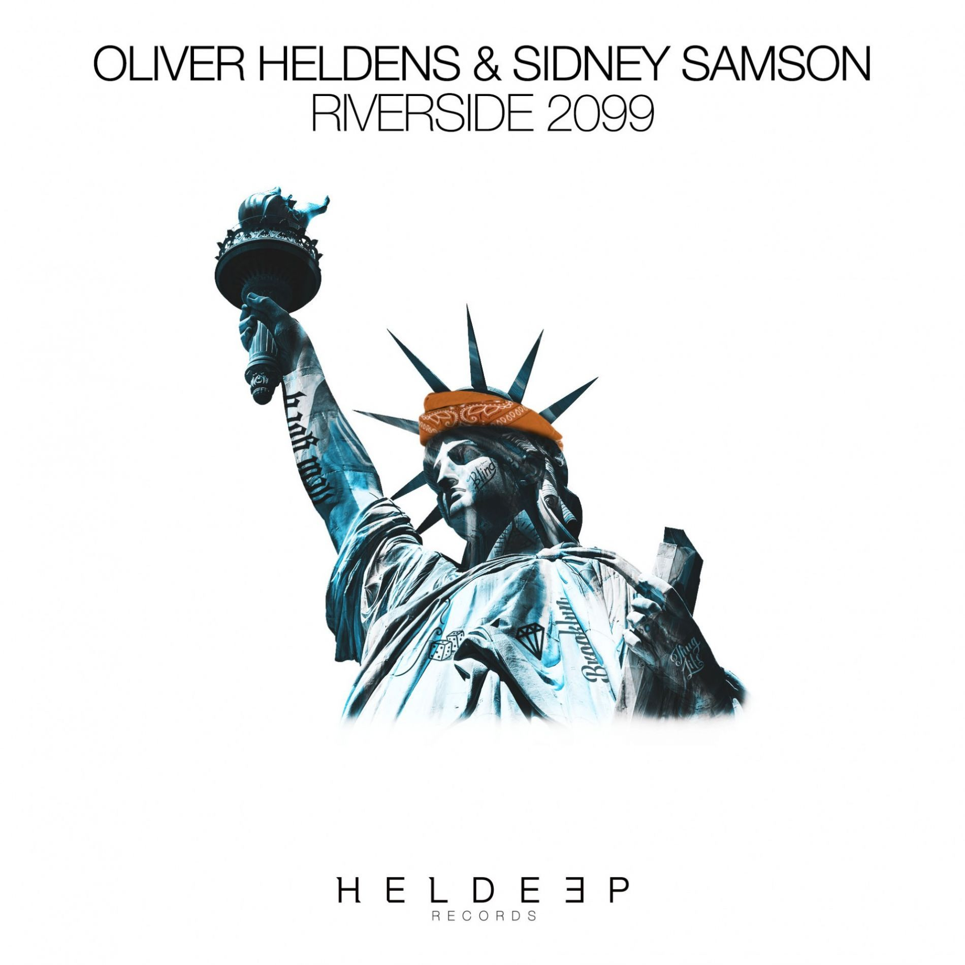 OLIVER HELDENS & SIDNEY SAMSON - Riverside 2099 (Heldeep/Spinnin/FUGA)