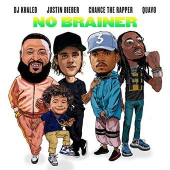 DJ KHALED FEAT. JUSTIN BIEBER, CHANCE THE RAPPER & QUAVO - No Brainer (We The Best/Epic/Sony)