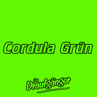 DIE DRAUFGÄNGER - Cordula Grün (ADLA Media/Electrola/Universal/UV)