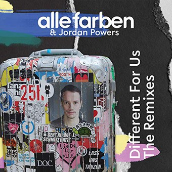 ALLE FARBEN & JORDAN POWERS - Different For Us (Synesthesia/Guesstimate/B1/Sony)