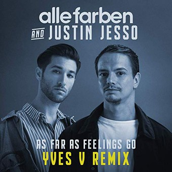 ALLE FARBEN & JUSTIN JESSO - As Far As Feelings Go (Synesthesia/Guesstimate/B1/Sony)