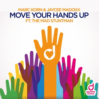 MARC KORN & JAYCEE MADOXX FEAT. THE MAD STUNTMAN - Move Your Hands Up (You Love Dance/Planet Punk/KNM)