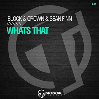 BLOCK & CROWN & SEAN FINN - Whats That (Tactical)