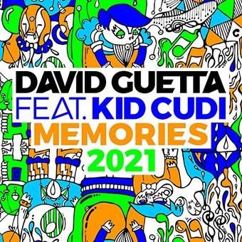 DAVID GUETTA & KID CUDI - Memories (2021 Remix) (Parlophone/Warner)