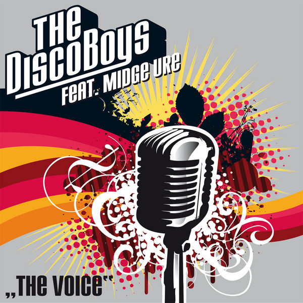 THE DISCO BOYS FEAT. MIDGE URE - The Voice (Superstar/Zebralution/DMD)