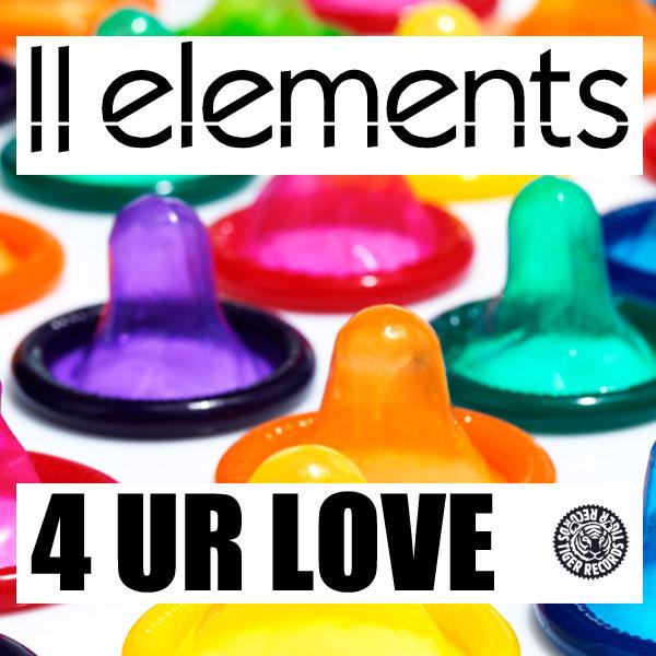 2ELEMENTS - 4 Ur Love (Tiger/Kontor/Kontor New Media)