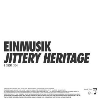 EINMUSIK - Jittery Heritage (Kompakt/Virgin/EMI)