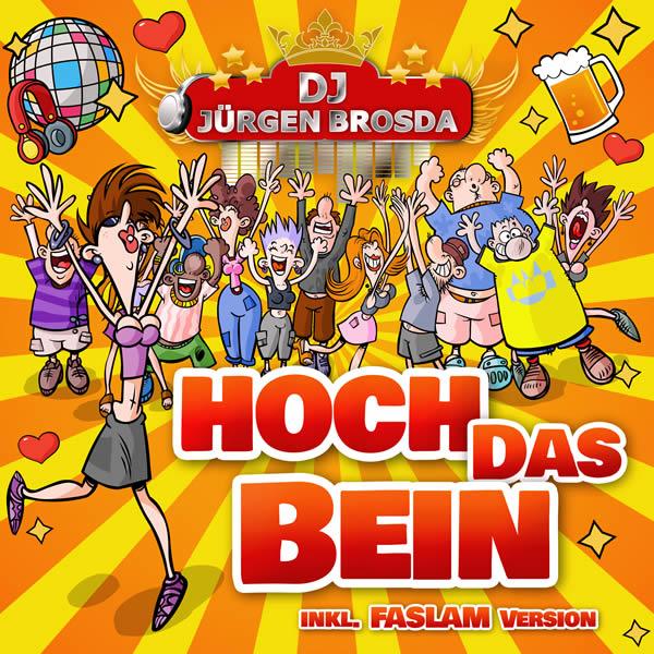 DJ JÜRGEN BROSDA - Hoch Das Bein (La Ola/KNM)