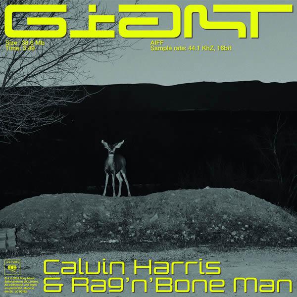 CALVIN HARRIS & RAG'N'BONE MAN - Giant (Columbia/Sony)
