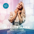 MARINA MARX - Wir Leben Live! (Ariola/Sony)